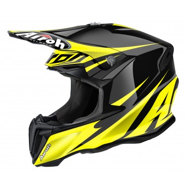 CASQUE AIROH TWIST FREEDOM YELLOW GLOSS