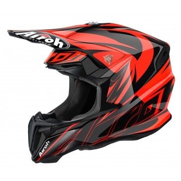 CASQUE AIROH TWIST EVIL ORANGE GLOSS