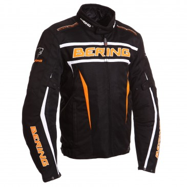 VESTE ROUTE BERING LUCKY NOIR/ORANGE