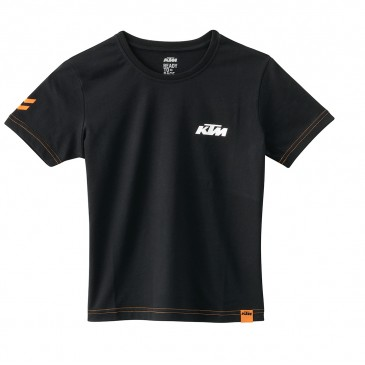 TEE SHIRT ENFANT KTM RACING NOIR