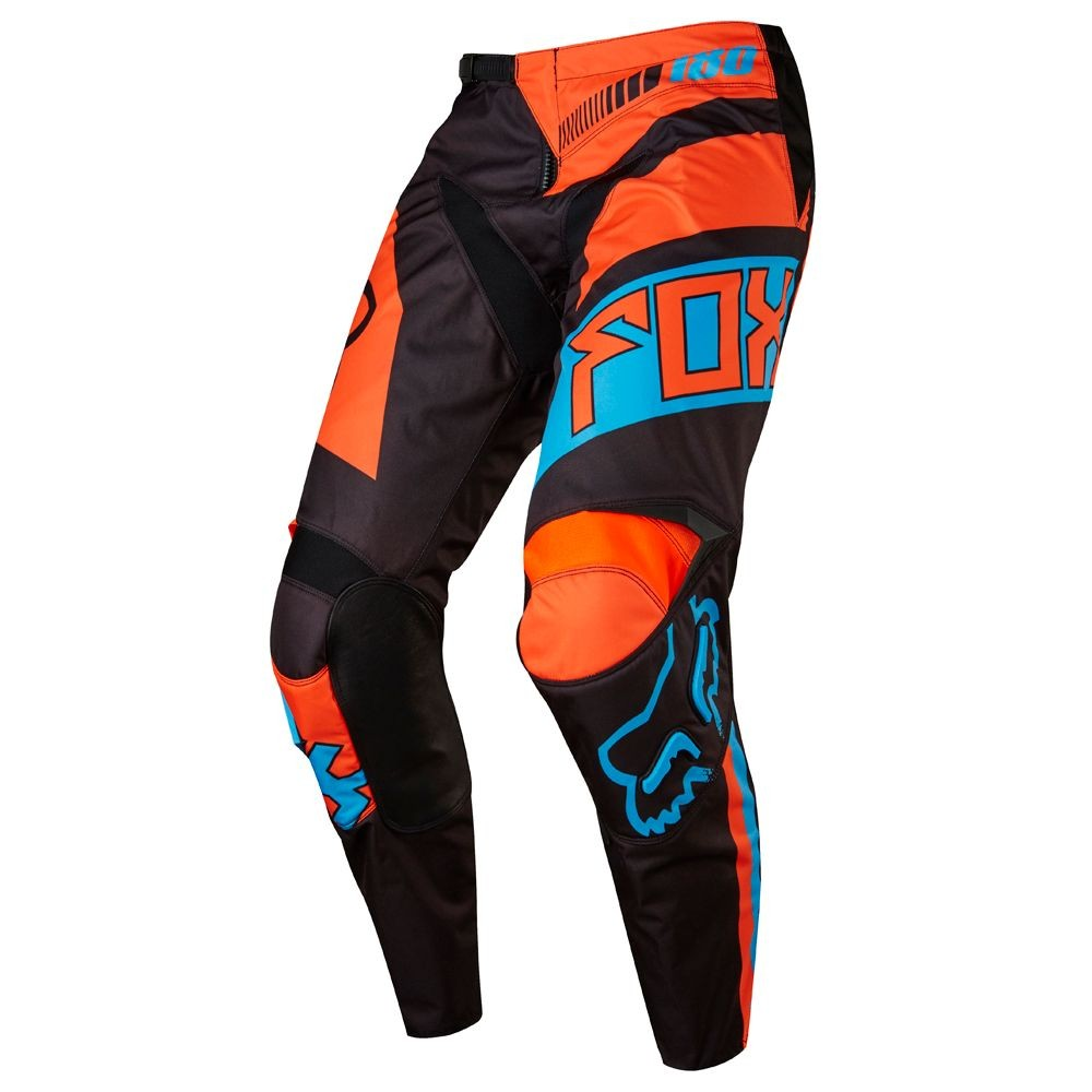 frais frais e4917 37c92 PANTALON FOX 180 FALCON NOIR/ORANGE - Pantalons - Wolff KTM