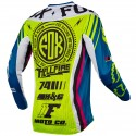 MAILLOT FOX 360 ROHR TEAL
