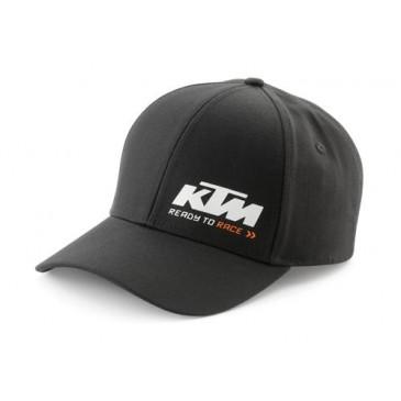 CASQUETTE KTM RACING NOIRE