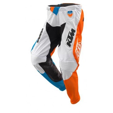 PANTALON KTM TROY LEE DESIGN SLASH BLANC