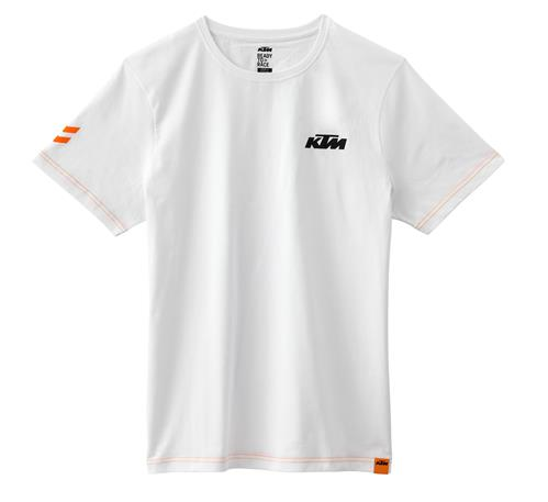 30/% Off RRP!!! Origine KTM Faded TEE blanc Taille XL /& XXL 3 PW 186690 *