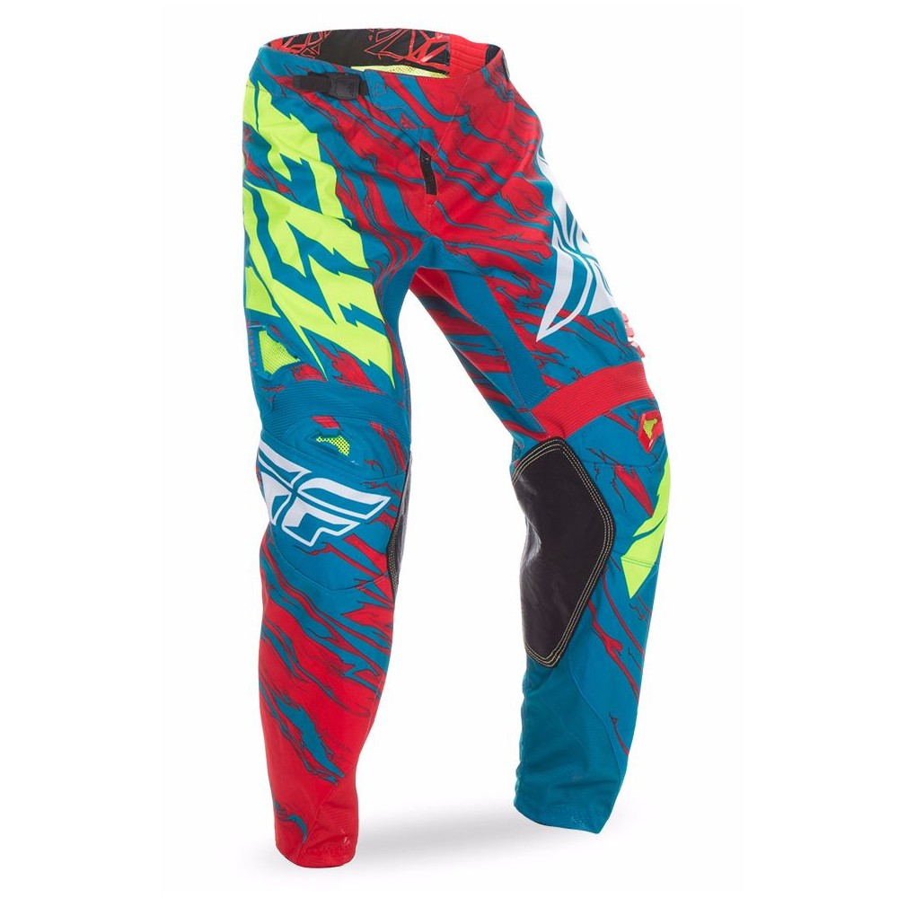 PANTALON FLY KINETIC RELAPSE TURQUOISE/ROUGE